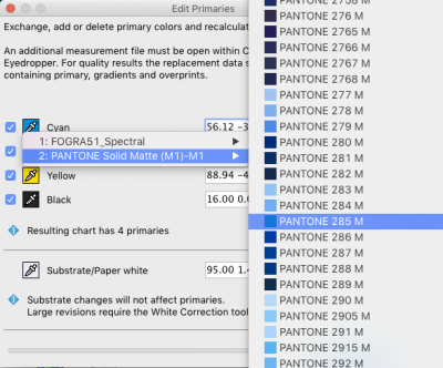Use spot color libraries within ColorAnt