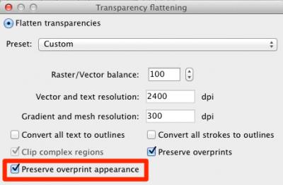 Preserving Overprints with ZePrA 4.5