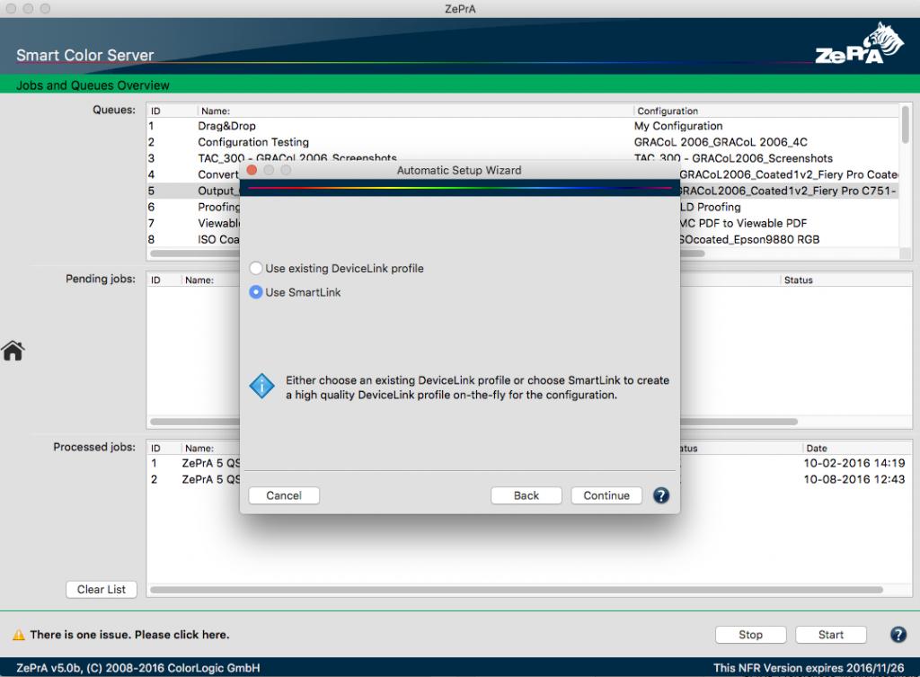 Use existing DeviceLink or SmartLink